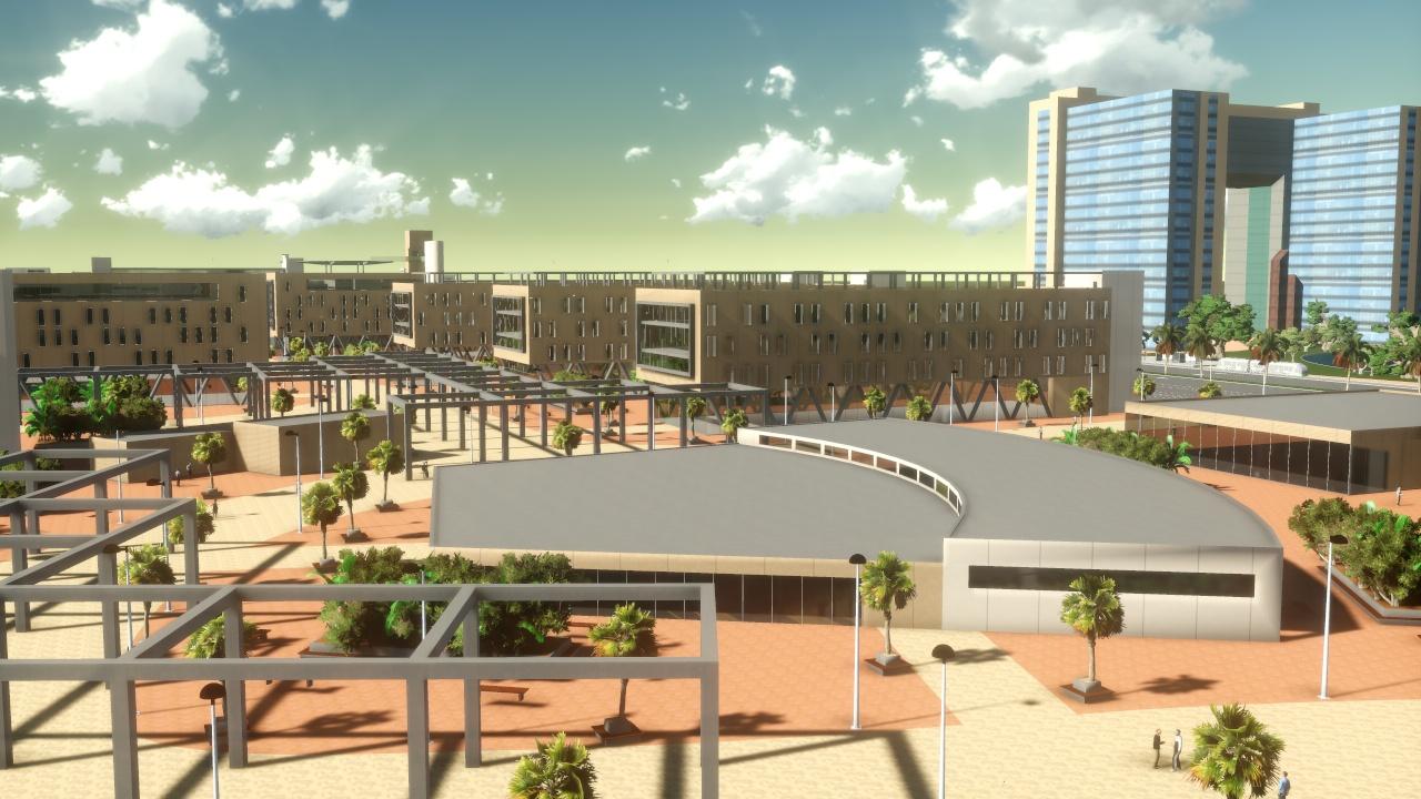 Abellan ingenieria y arquitectura ciudad universitaria for Ingenieria y arquitectura